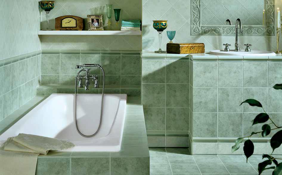 piastrelle bagno x pavimento rivestimento canova verde perla, Disegni interni