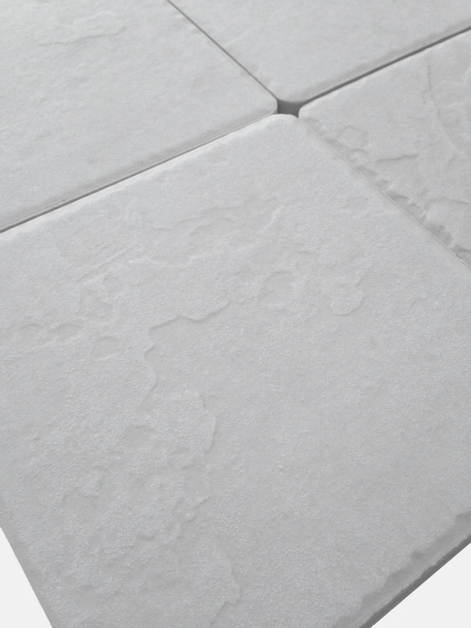 Piastrelle pavimento esterno gres porcellanato antiscivolo 15x15 bianco himalaya ebay - Piastrelle 15x15 bianco lucido ...