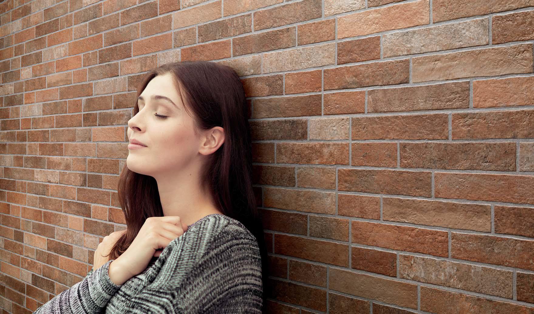 Piastrelle rivestimento mattone faccia a vista fiordo my brick liverpool muretto ebay - Piastrelle effetto mattone ...