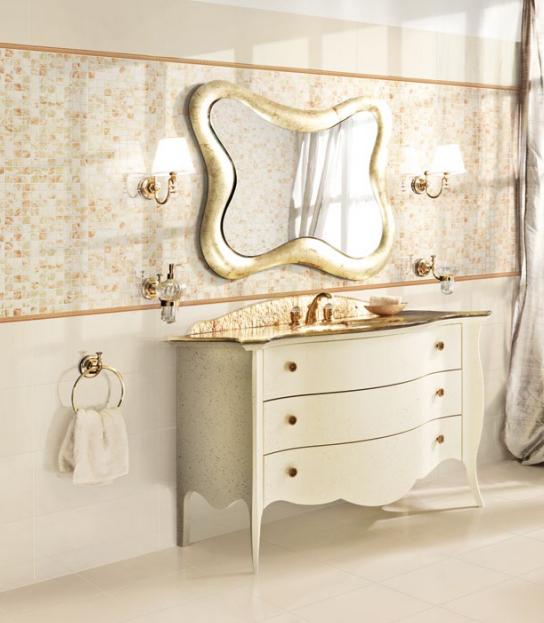 Piastrelle bagno pavimento rivestimento ceramica valentino romantica beige ebay - Piemme valentino bagno ...