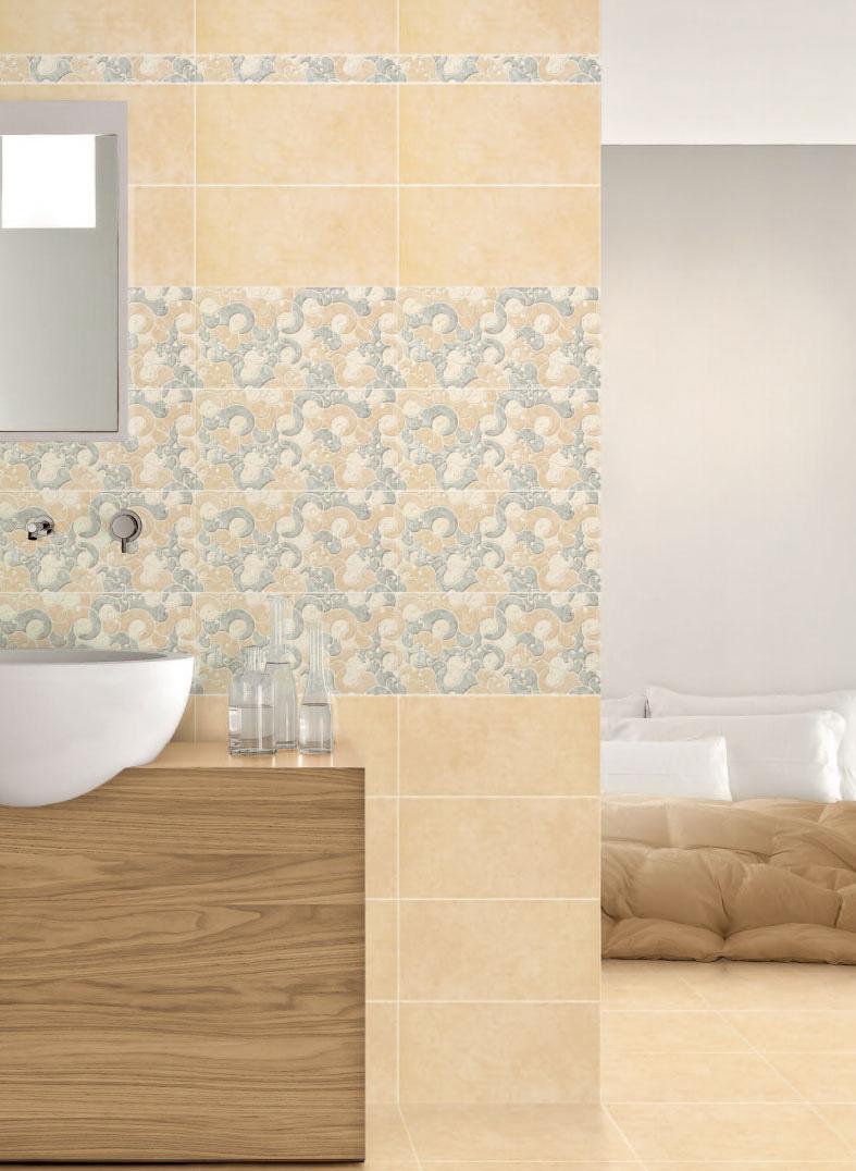 Piastrelle bagno casa pavimento rivestimento gres ceramica - Piastrelle bagno beige ...