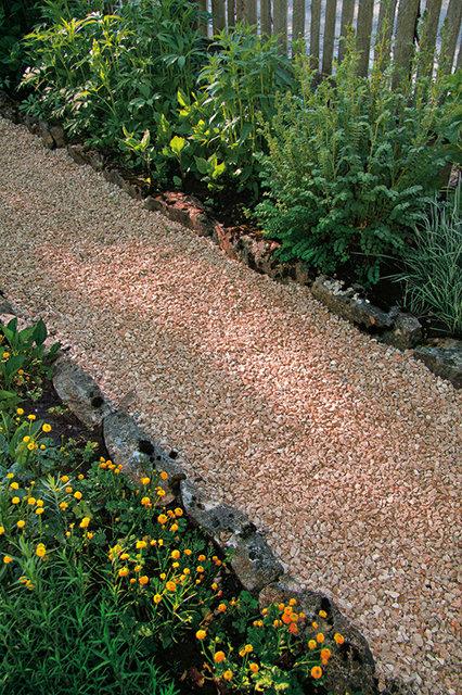 4 sacchi da 25kg graniglia di marmo rosso verona 8 12mm for Decorazioni giardino aiuole