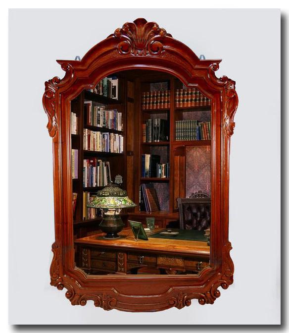 Cornice specchio molato stile impero arredamento casa for Arredamento stile impero