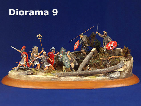 marco polo collection diorama teutoburg forest battle. Black Bedroom Furniture Sets. Home Design Ideas