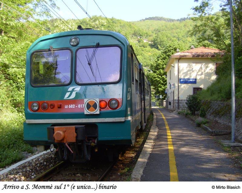 Ferrovia Porrettana: San Mommè - Pracchia 0023