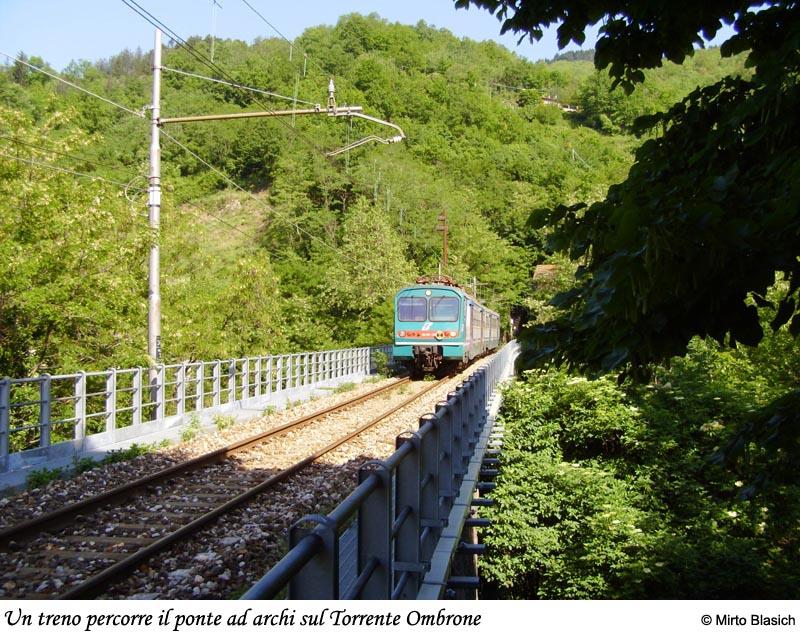 Ferrovia Porrettana: San Mommè - Pracchia 0025