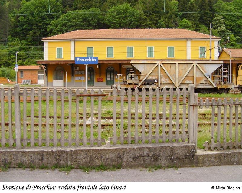 Ferrovia Porrettana: San Mommè - Pracchia 0038