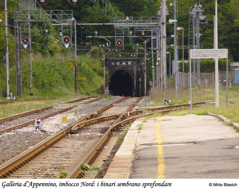 Ferrovia Porrettana: San Mommè - Pracchia 0040