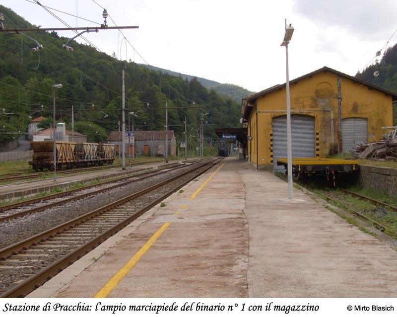 Ferrovia Porrettana: San Mommè - Pracchia 0042