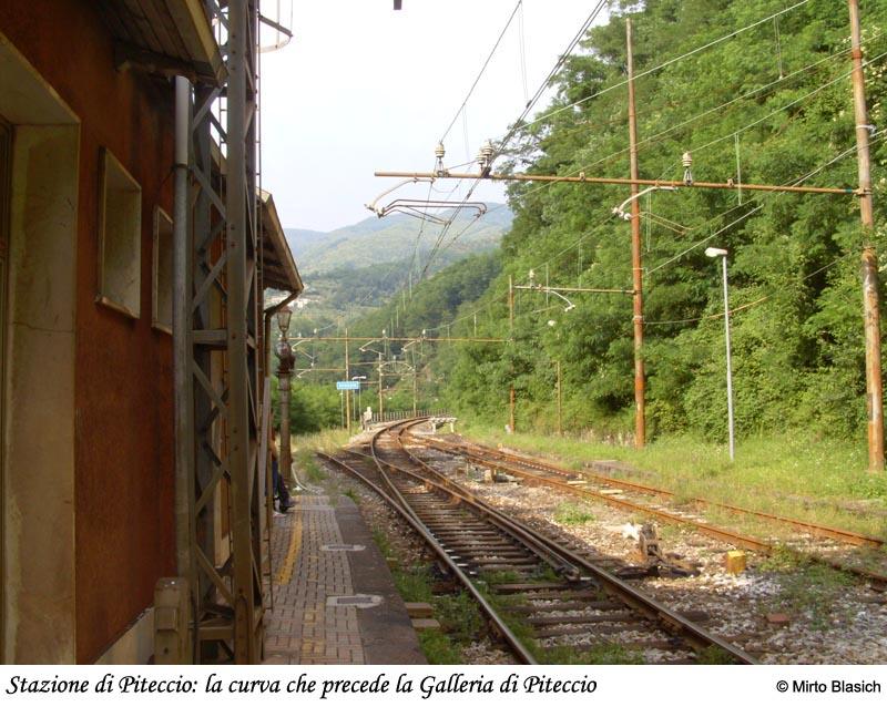 Ferrovia Porrettana: stazione di Piteccio (PT) 0053