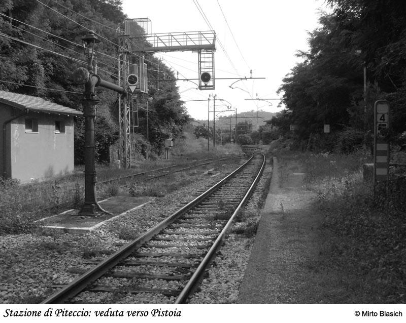 Ferrovia Porrettana: stazione di Piteccio (PT) 0055