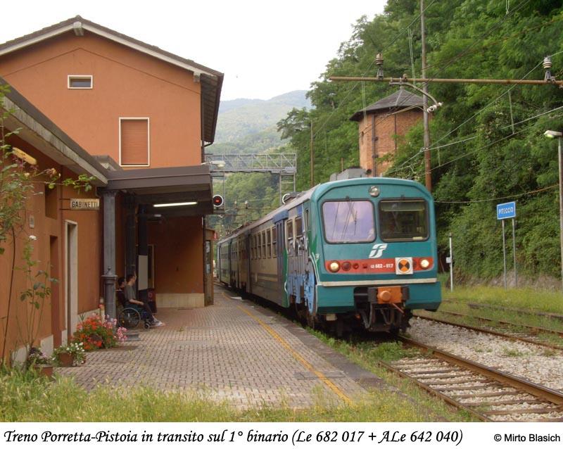 Ferrovia Porrettana: stazione di Piteccio (PT) 0057