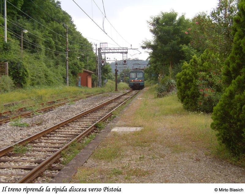 Ferrovia Porrettana: stazione di Piteccio (PT) 0058