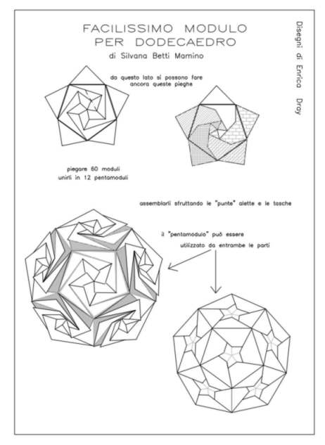 Modular Free Diagrams Instructing You How To Fold Unit Origami Models