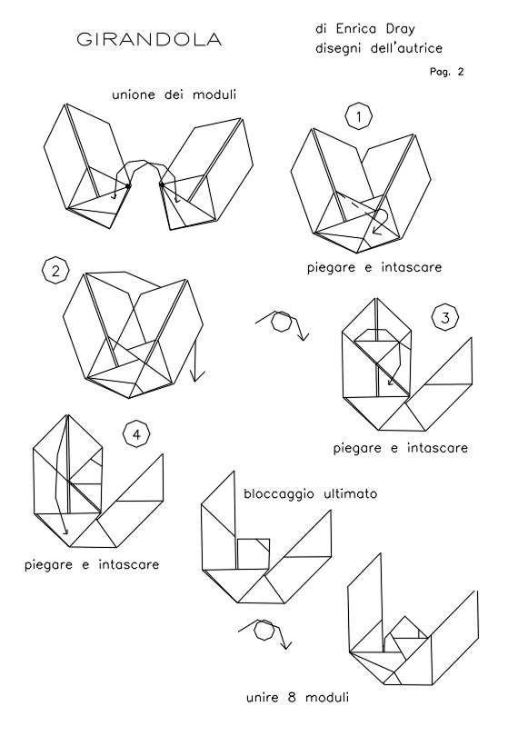 Origami Modular Star Instructions: www.Origami-Fun.com - YouTube | 810x570