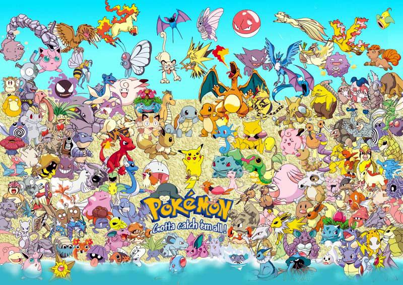 Pokemon World Sfondi Per Il Desktop