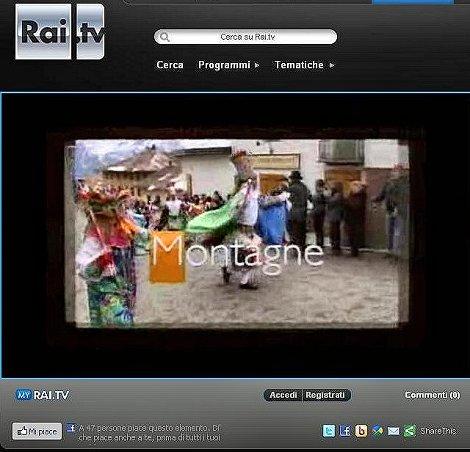 Rai Tv Montagne 30 marzo 2012