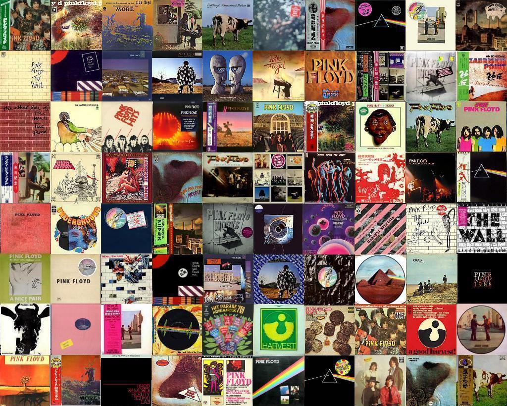 la discografia de pink floyd: