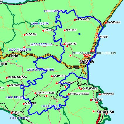 Guida di sicilia cartina stradale antonino mul for Affitti arredati catania e provincia