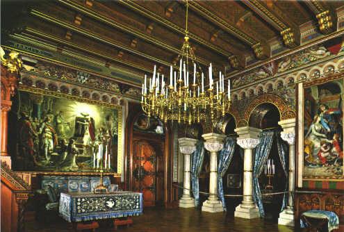 Il castello reale di neuschwanstein for Soggiorno castello
