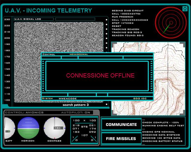 Stargate Telemetria UAV offline