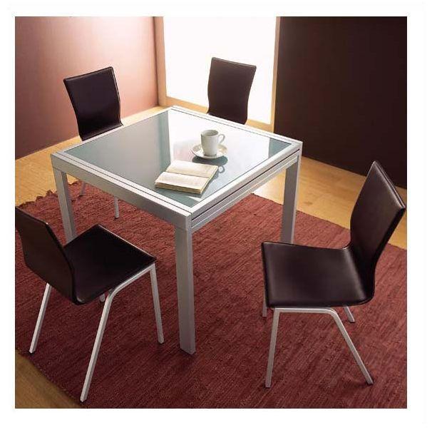 tavolo da cucina allungabile 90 x 120 90 x 240 vetro ebay