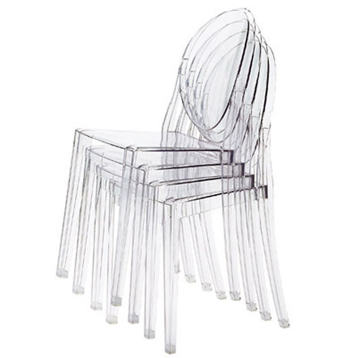 kartell 6 poltroncine louis ghost 2 sedie victoria ghost ebay. Black Bedroom Furniture Sets. Home Design Ideas