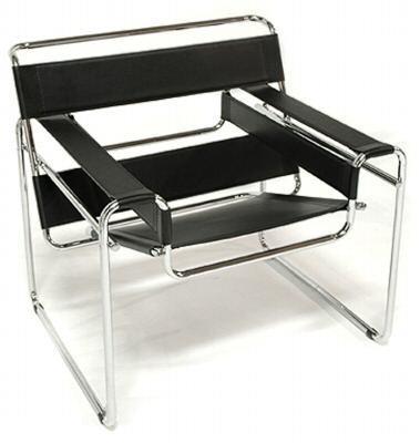 Poltrona bauhaus wassily marcel breuer prodotto design ebay for Mobili bauhaus repliche