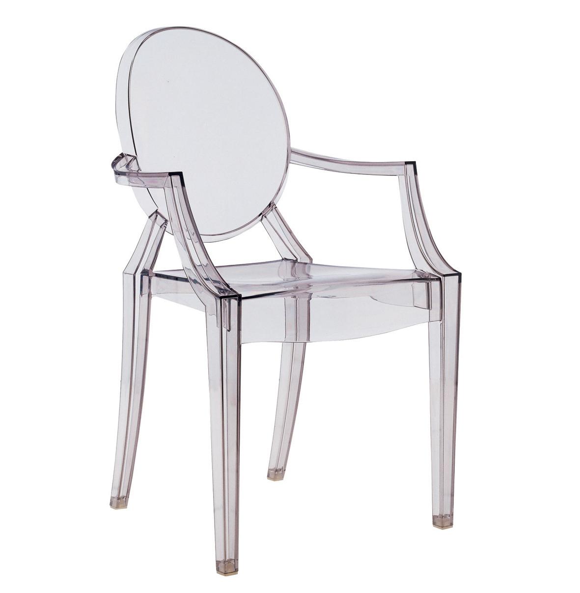 Kartell 6 Sedie Poltroncine Louis Ghost Trasparenti Design By Philippe Starck Ebay