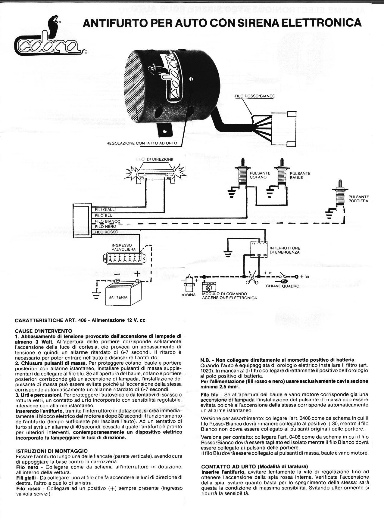 Schema Elettrico Per Carroponte : Vw golf mania forum schema elettrico per antifurto