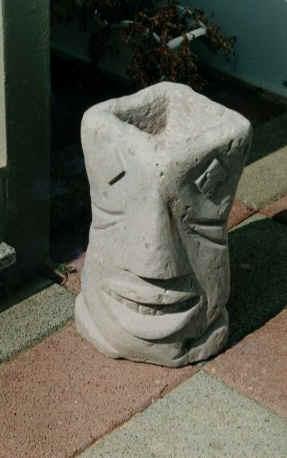 Pietra PERSONAGGIO BUSTO Melanie gelo fisso NUOVO scultura in pietra colata personaggio su-2139