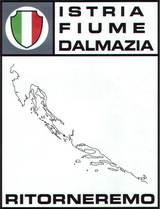 Dalmazia Italiana Cartina.Confini Mutilati