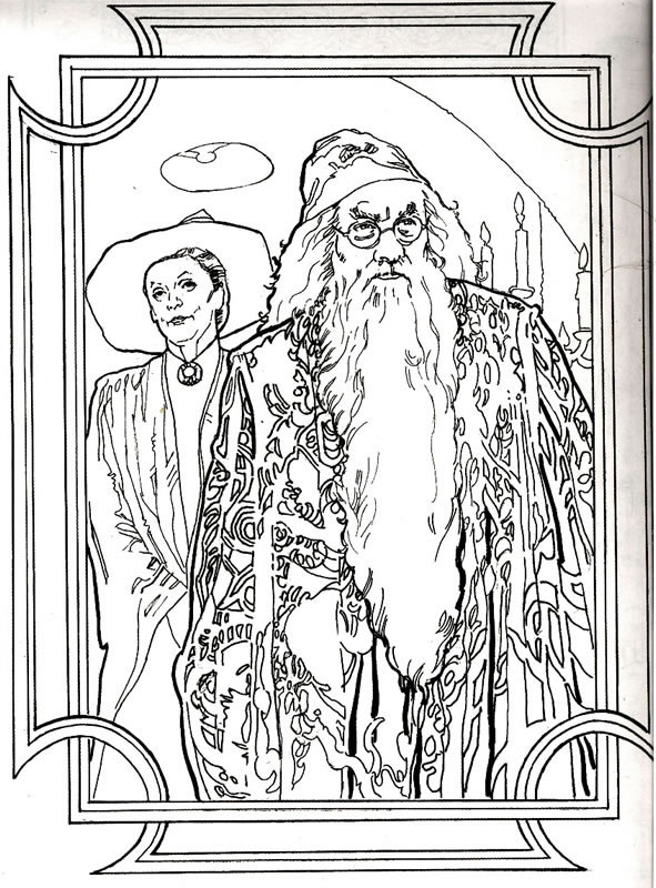 Harry potter - Libero tacchino da colorare pagina ...