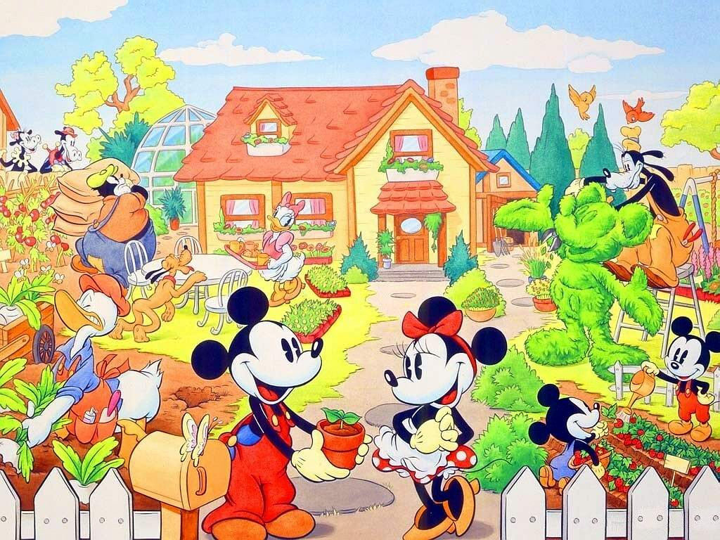 Topolino for Love theme images