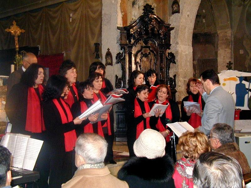 Prima pagina ottava edizione secondo concerto di natale for Secondo di natale