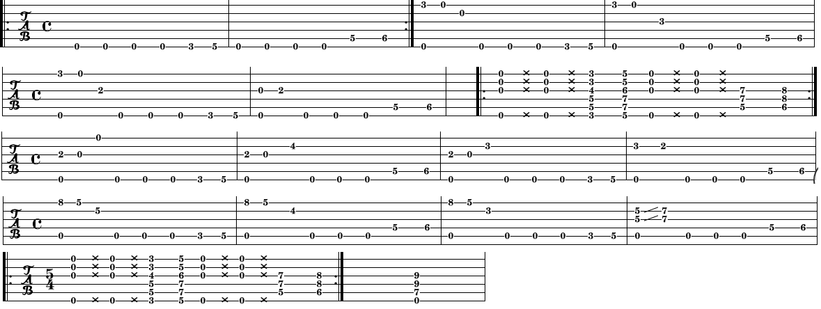 All Music Chords Mission Impossible Theme Sheet Music Mission