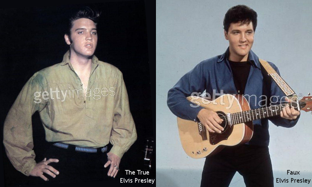 Elvis and the Felvis ....