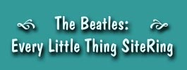 Beatles Every Little Thing SiteRing