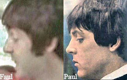 Faul-James Paul McCartney nose comparison