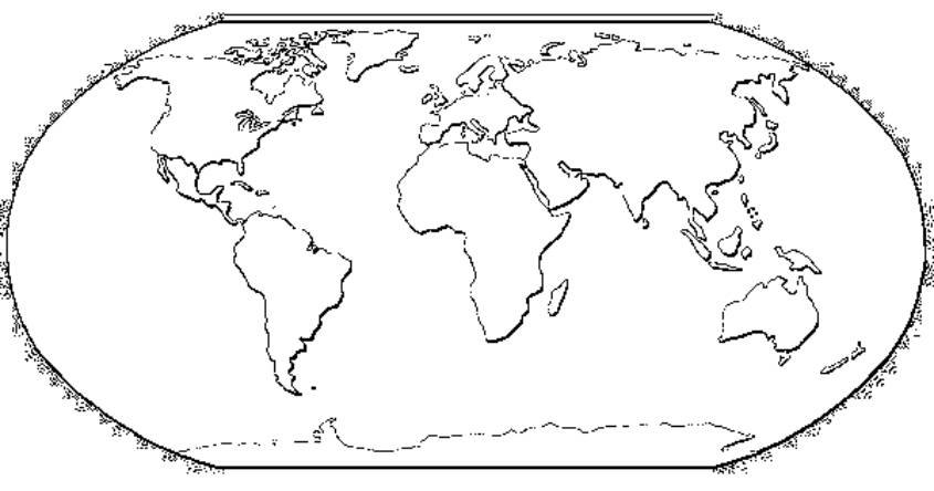 Super Cartina del mondo muta da stampare - Imagui FD01