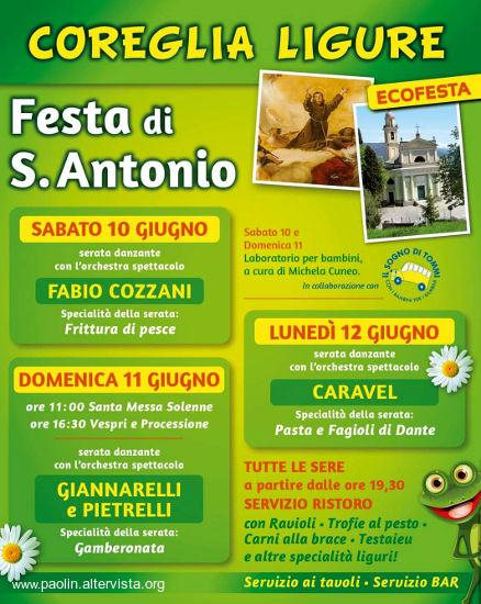 Tonya Todisco Calendario Serate.Appuntamenti Feste E Sagre Nel Tigullio Genova Liguria