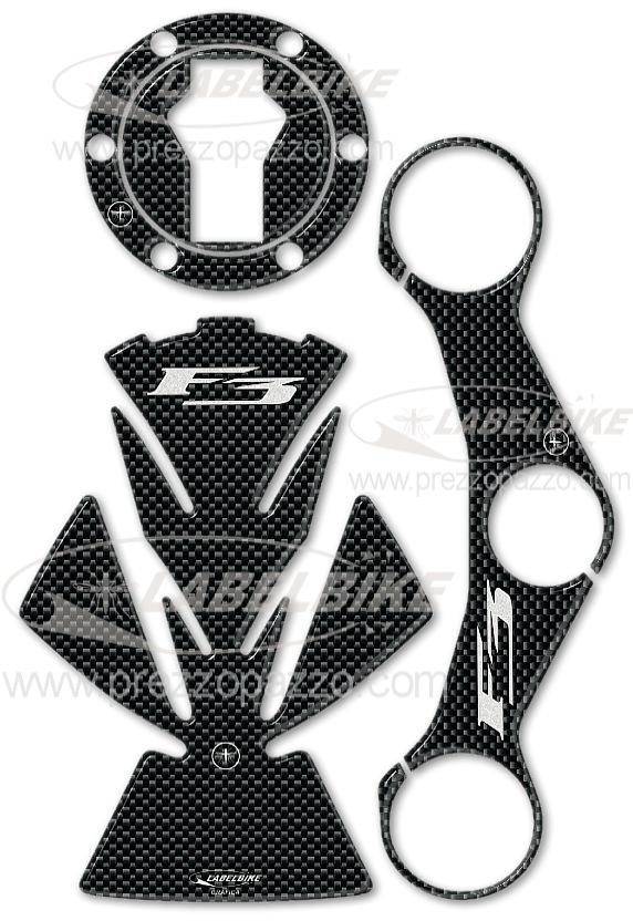 Kit Autocollant Résine 3d Protections Stickers Compatible Moto Mv Agusta F3