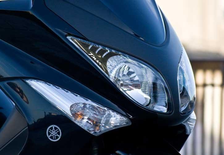 Noir-Blanc Kit Autocollant R/ésine 3D Compatible T Max Protection Yamaha Tmax 500 2008-2011