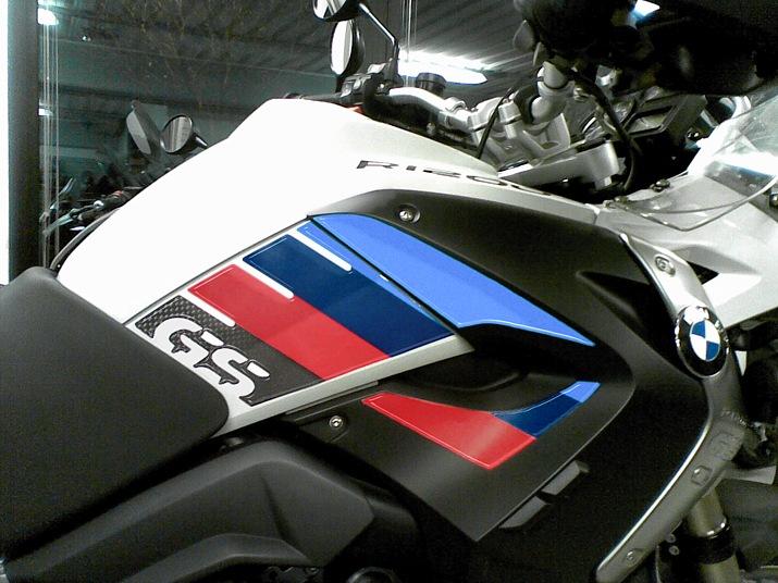 Adesivi 3D Protezioni Laterali compatibili con BMW R 1200 GS 2004-2007