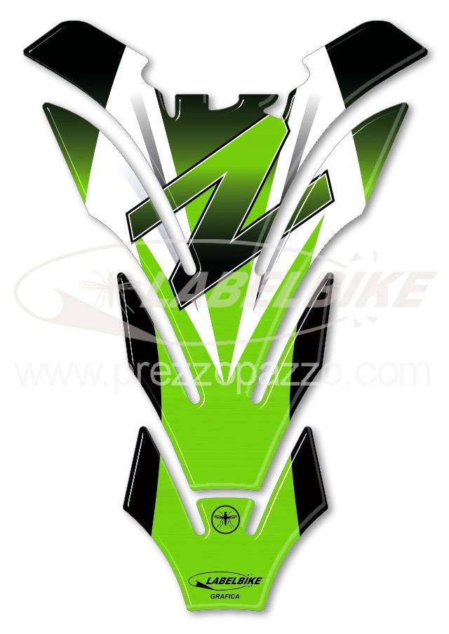 PROTEZIONE 3D PIASTRA FORCELLA compatibile per MOTO KAWASAKI Z 1000SX Z1000 SX
