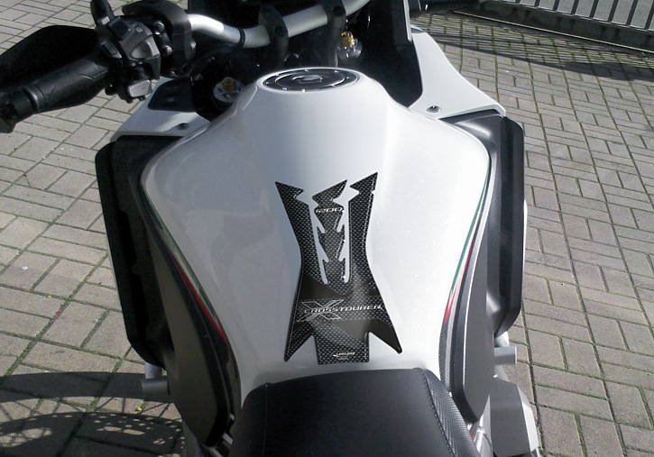 PREZZO PAZZO Tankpad 3D kompatibel mit Honda Crosstourer