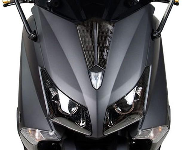 2 AUTOCOLLANTS-STICKERS R/ÉSINE 3D /écrit TMAX pour SCOOTER MOTO YAMAHA T MAX 500-530