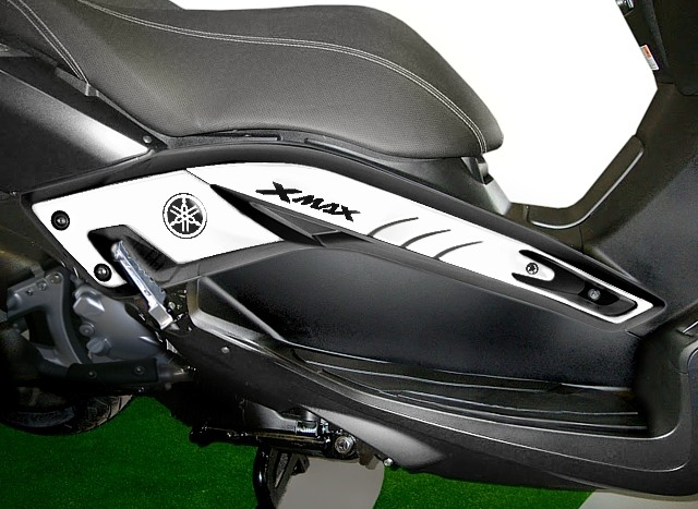 kit ADESIVI 3D per Scooter X max 300 PROTEZIONE compatibile per YAMAHA Xmax 300