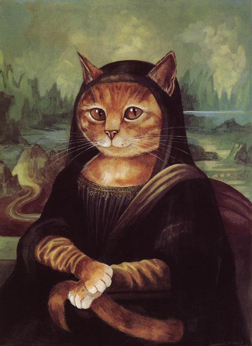 La gioconda su mondo gatto for La gioconda di leonardo da vinci