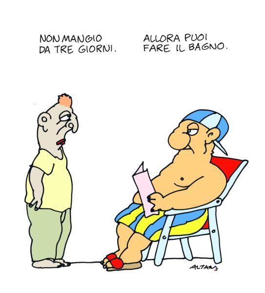 Vignetta di Altan - L'Espresso